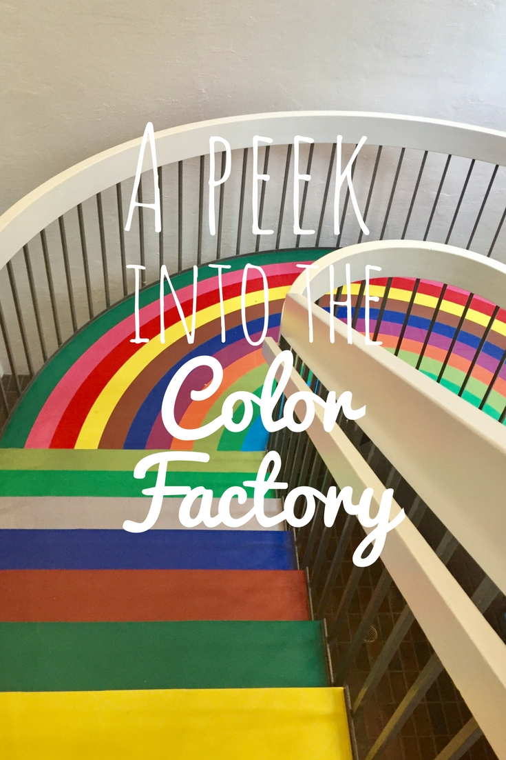 a peekinto the colorfactory