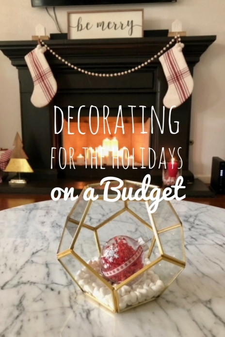 decorating for the holidays