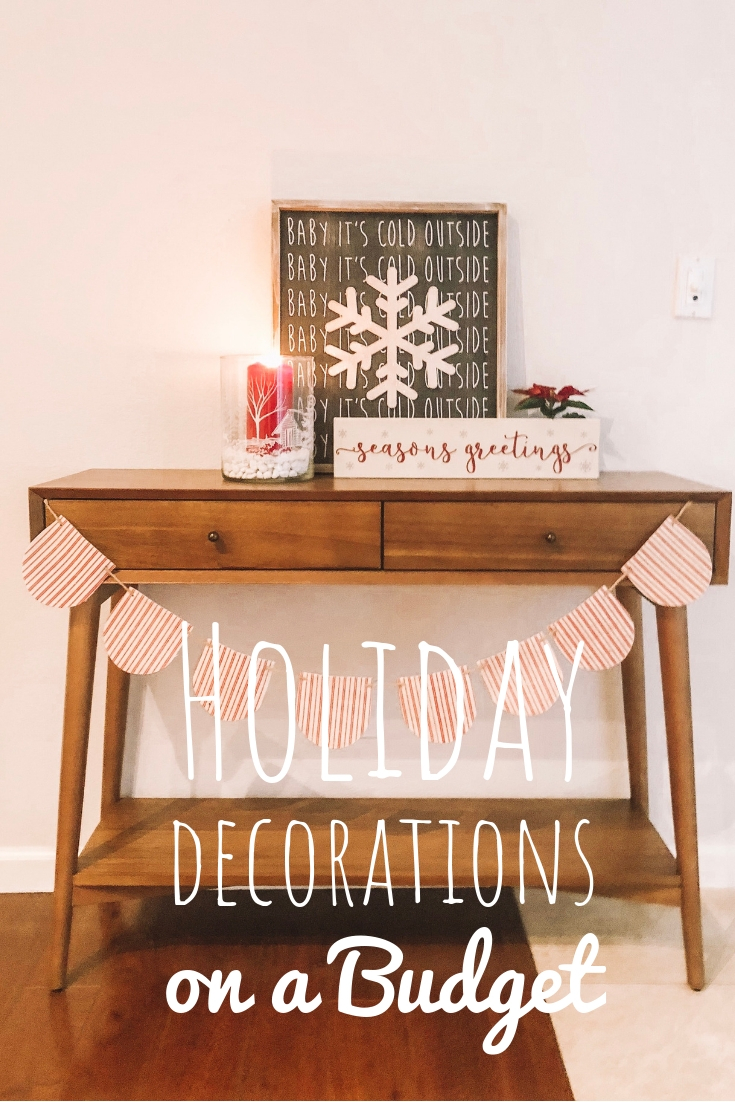 Holiday Decorations on a Budget